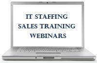 IT staffing webinar training