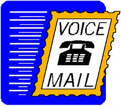voice mail message