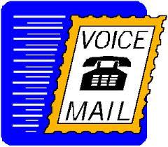 voice mail message