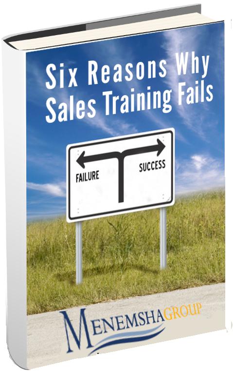 Six Reasons Why Sales Training Fails