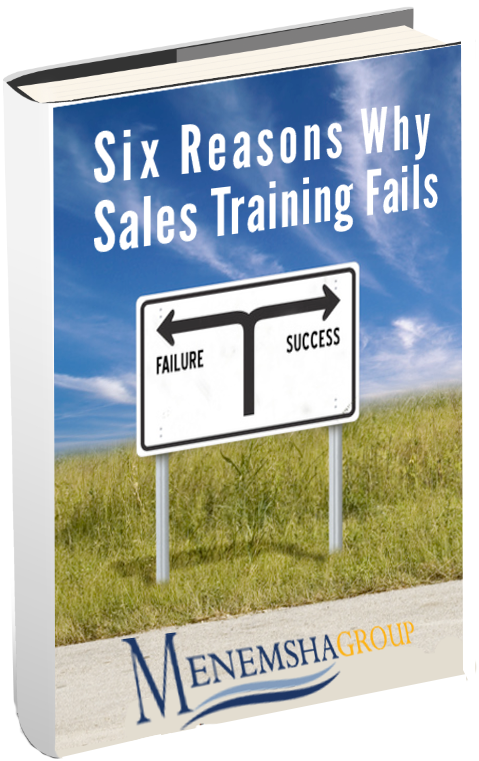 Six Reasons Why Sales Training Fails