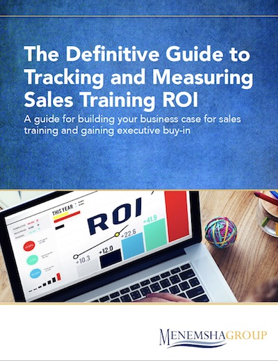 definitive guide to tracking and measuring sales training roi
