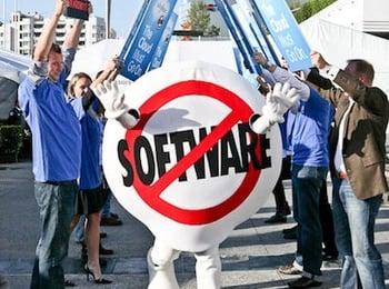 salesforce.com no software