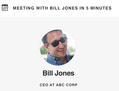 Bill Jones CEO