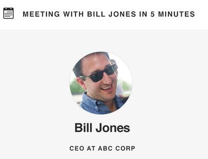 Bill Jones CEO